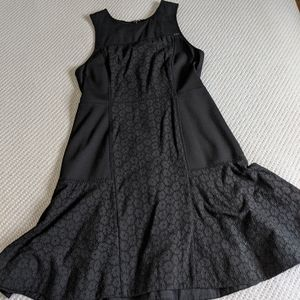 J. Crew Collection Black Sleeveless Dress
